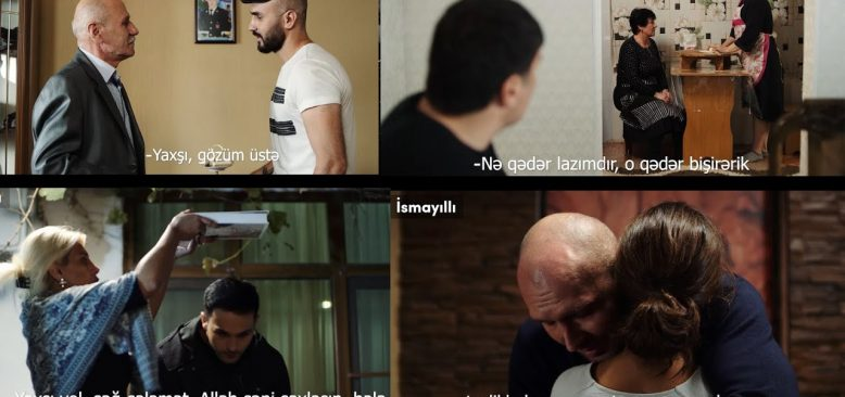 Azerbaycan seferberlik ilan etti, Duygusal klip ilk televizyon yayını