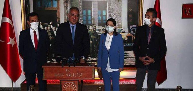 Bakan Ersoy: Bolu turizm potansiyeli olarak çok iyi bir noktada