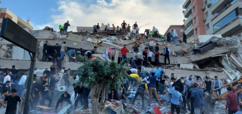 İzmir'deki Deprem Sonrası Türkiye'ye Dayanışma Mesajları