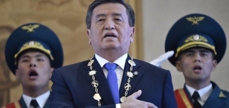 Kırgızistan Cumhurbaşkanı İstifa Etmeye Hazır Olduğunu Söylüyor