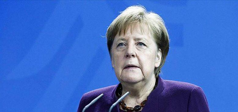 Merkel : 'Tedbirler uygun gerekli ve orantılı'