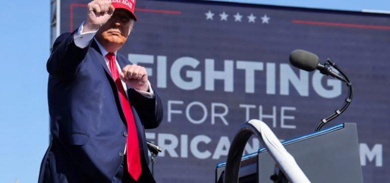 Trump Çekişmeli Eyalet Arizona'da