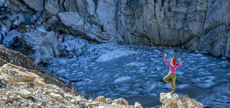 Türkiye'nin en büyük buzulu yerli ve yabancı doğaseverleri ağırlıyor