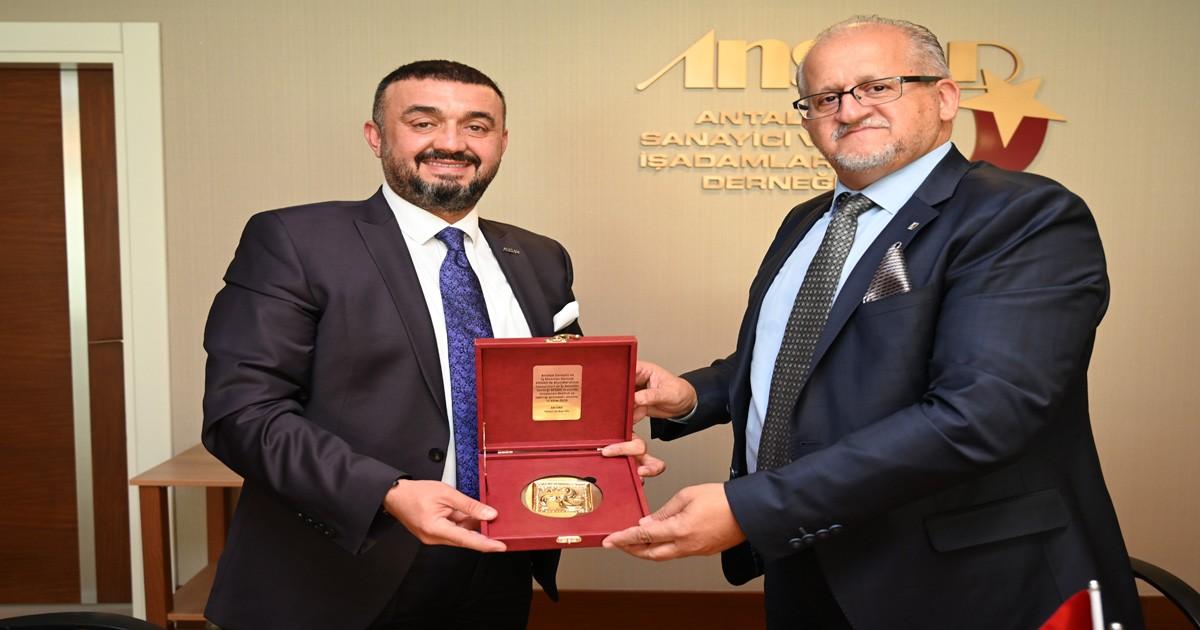 Afyon ve Antalya iş dünyasında işbirliği
