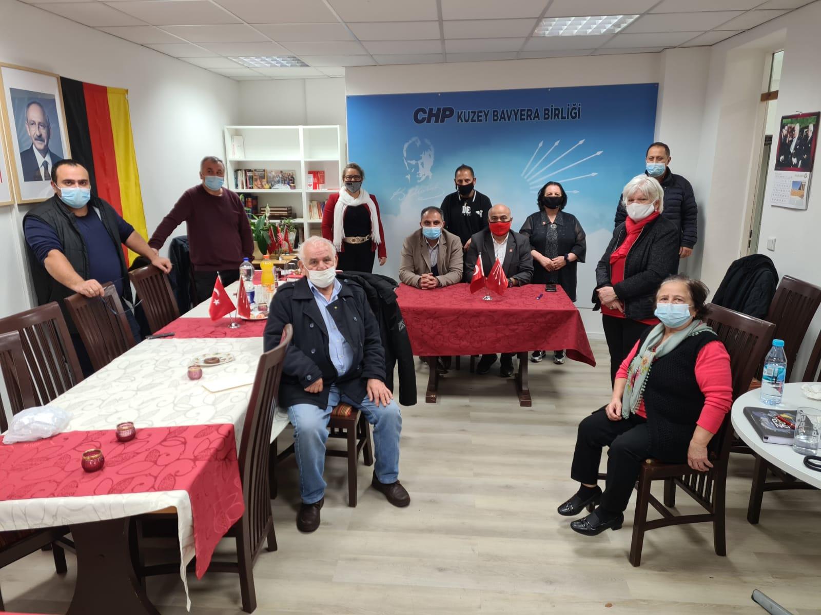 Kuzey Bavyera CHP`den Cumhuriyet Bayramı kutlaması