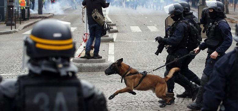 Fransa'da yaşanan simge olaydaki polis şiddeti yeniden sınıflandırıldı