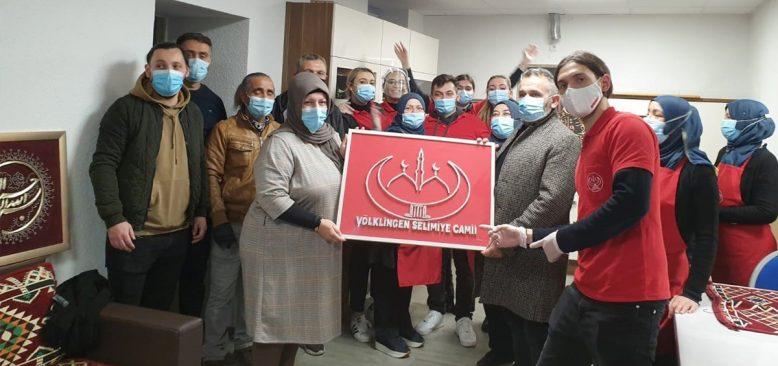 Völklingen DİTİB Camii'nden eğitime destek kampanyası