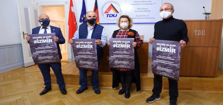 Berlin Dayanışma İnisiyatif'inden İzmir'e yardım kampanyası