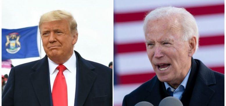 Trump ve Biden'ın Yoğun Programı