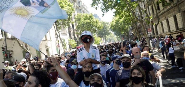 Arjantinliler Maradona İçin Sokaklara Döküldü