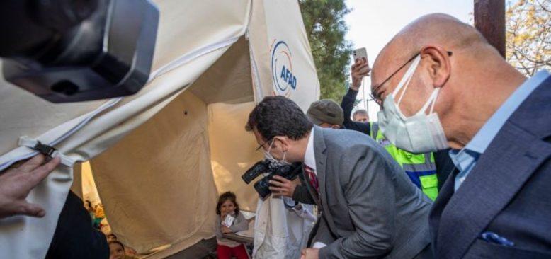 İmamoğlu ve Soyer'den Deprem Kanunu Çağrısı