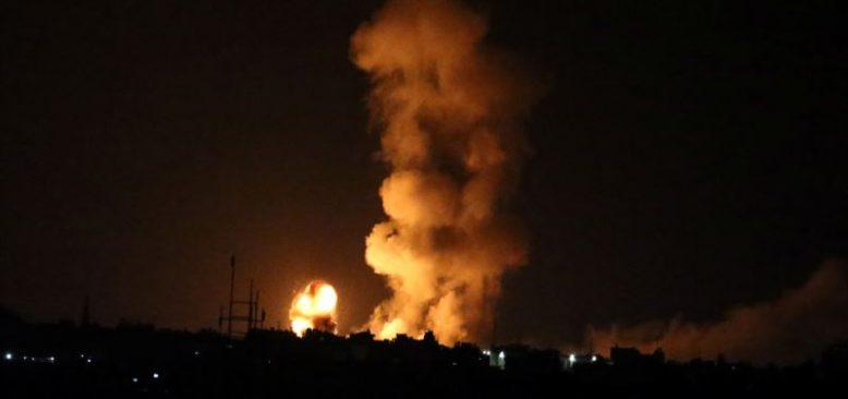 İsrail Gazze Şeridi'ni Vurdu