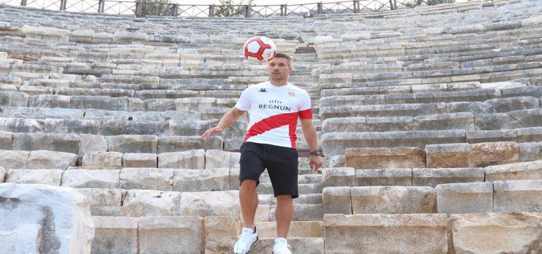 Lukas Podalski Antalya'yı tanıtacak