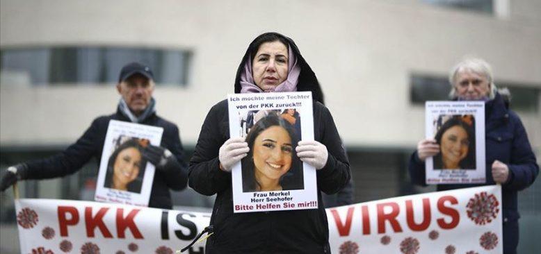 PKK tarafından kızı kaçırılan anne eylemini sürdürüyor