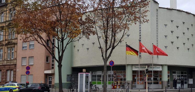 Mannheim Camii yönetimi, hassasiyet gösteren polis teşkilatına teşekkür etti