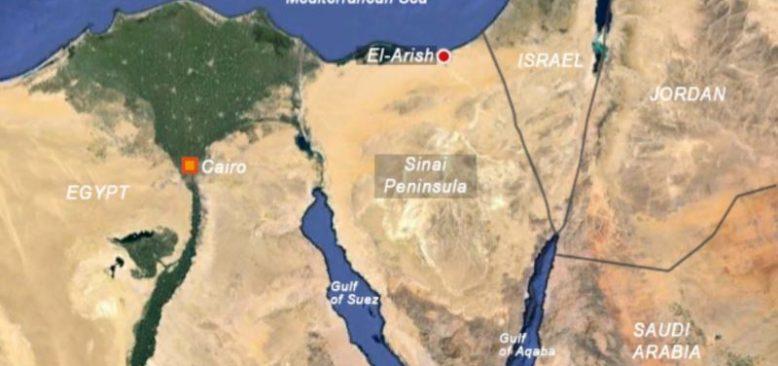 Sina Yarımadası'nda Barış Gücü Helikopteri Düştü