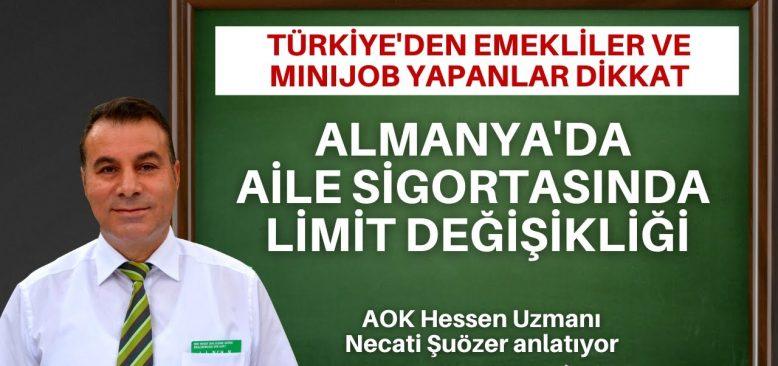 Türkiye'den emeklilikte Minijob yapacaklar dikkat