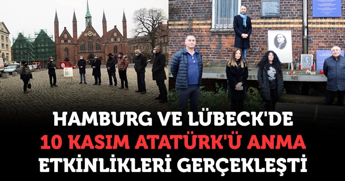 Ulu Önder Atatürk Hamburg ve Lübeck'de anıldı
