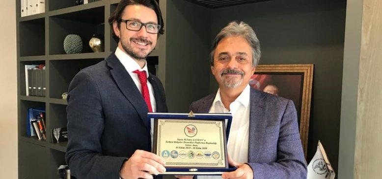 Türkiye Serbest Bölgeler Dernekler Platformu'nda görev değişimi