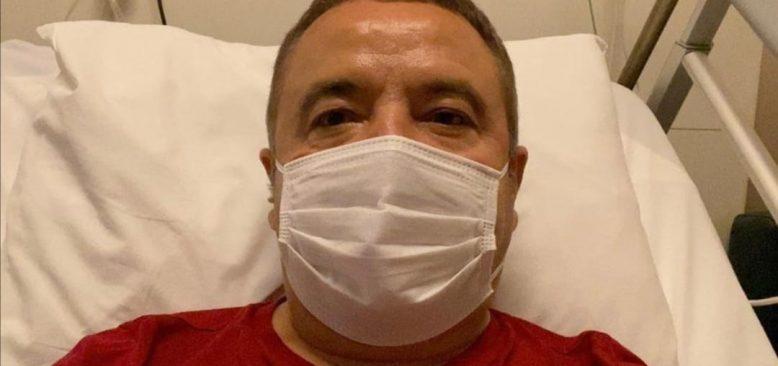 Başkan Böcek'in sağlık durumu iyiye gidiyor