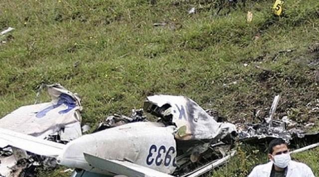 Almanya'da uçak düştü: 1 ölü