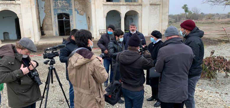 KGK Karabağ'da tarihe tanıklık etti