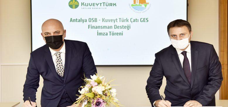 Çatılara özgürlük için Kuveyt Türk'ten finans desteği