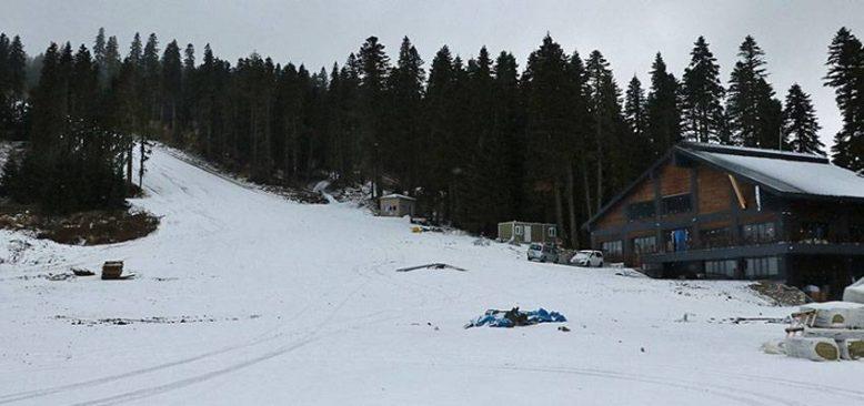 'Anadolu'nun yüce dağı' Ilgaz kayak sezonu için kar bekliyor
