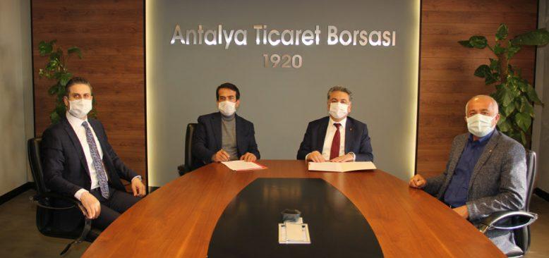 Antalya Ticaret Borsası ile Ziraat Bankası arasında protokol imzalandı