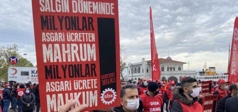 Asgari Ücrete İşçi Konfederasyonları Tepkili