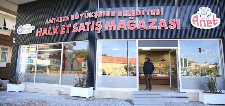 Antalya Büyükşehir Belediyesi 321 ton et satışı gerçekleştirdi