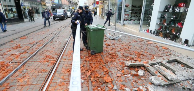 Hırvatistan'daki Şiddetli Deprem Komşu Ülkelerde de Hissedildi