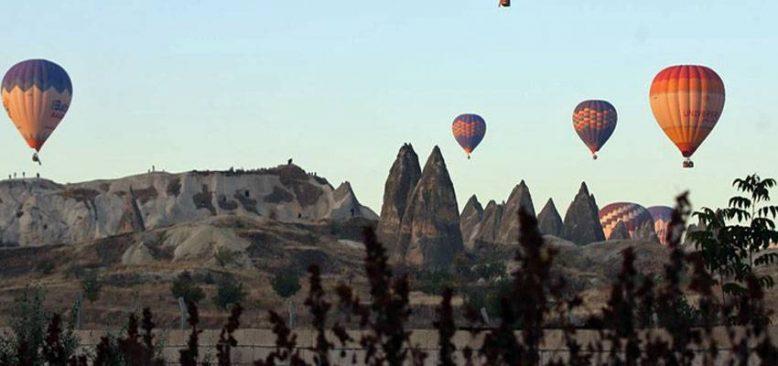 Kapadokya'yı kasımda 87 bin 700 turist gezdi