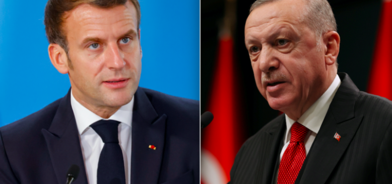 Macron'dan Erdoğan'a Yanıt: