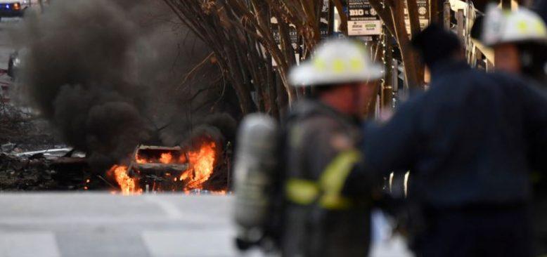 Nashville'deki Patlama Polise Göre Kasıtlı