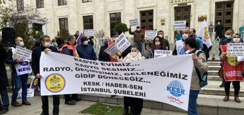 TRT Çalışanları Harbiye ve Ulus Binalarını Kaybetmekten Korkuyor