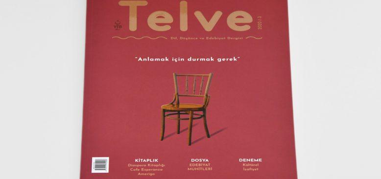 Telve Dergisi'nin yeni sayısı Edebiyat Muhitleri dosyası ile yayımlandı