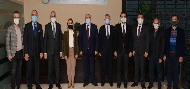 AKP'li Vekiller TSO ve borsaların sorunlarını dinliyor