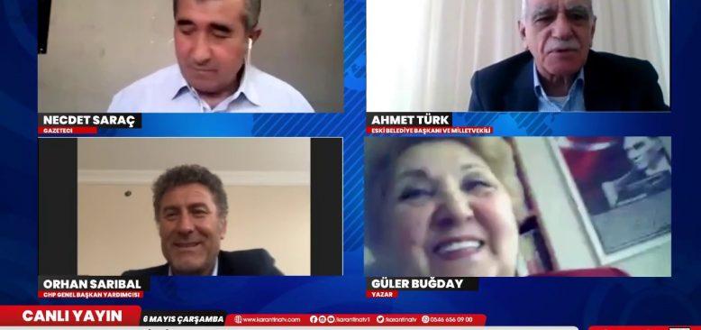Ahmet Türk: Hiç bir şey eskisi gibi olmayacak dendi, üslup ve dil eskisinden daha kötü! - Karantina TV