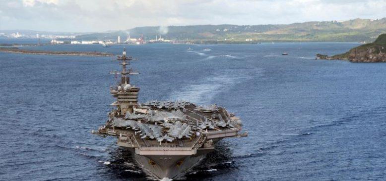Amerikan Uçak Gemisi Güney Çin Denizi'nde