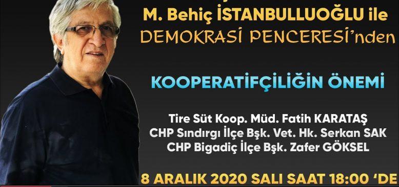 Araştırmacı Yazar İstanbulluoğlu ile Demokrasi Penceresi