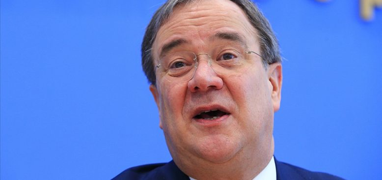 CDU genel başkanlığına Armin Laschet seçildi