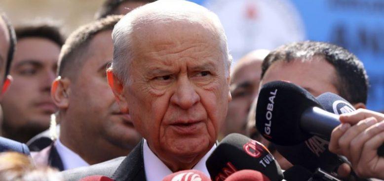 Bahçeli'den Yargıtay'a ''HDP'ye Kapatma Davası Açın'' Çağrısı