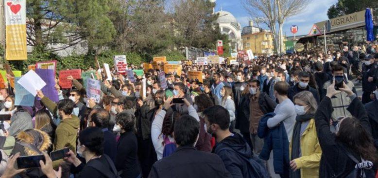 Boğaziçi'nde Protestolar Yeniden İvme Kazanıyor