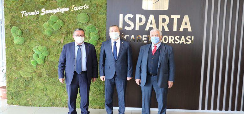 Isparta'da Elma Borsası için birlik sağlanamadı