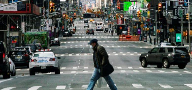 Salgın New York'u 'Hayalet Kent'e Dönüştürdü