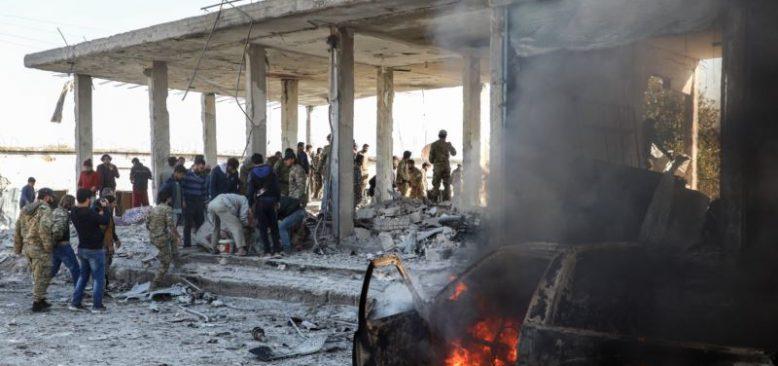 Suriye'de Türkiye'nin Kontrolündeki Bölgelerde Saldırılar
