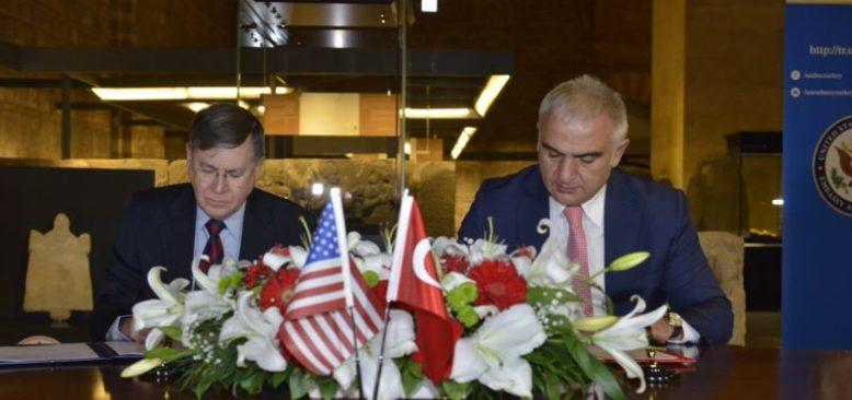 Tarihi Eser Kaçakçılığına Karşı ABD-Türkiye İşbirliği