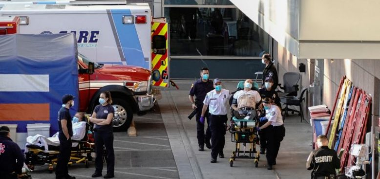 Vakaların Hızla Arttığı Los Angeles'ta Hastaneler Alarmda