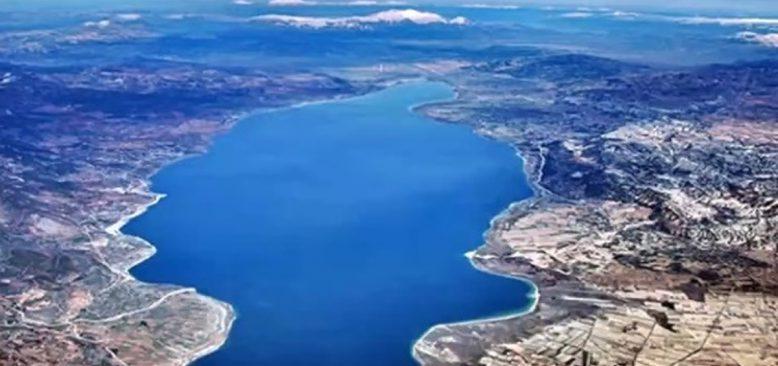 Burdur Gölünü kurtarma seferberliği başlatıldı